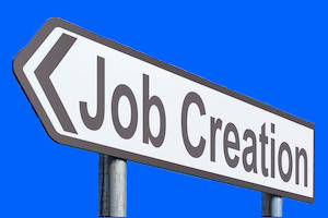 Job Creation Sign